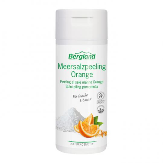 Meersalzpeeling Orange